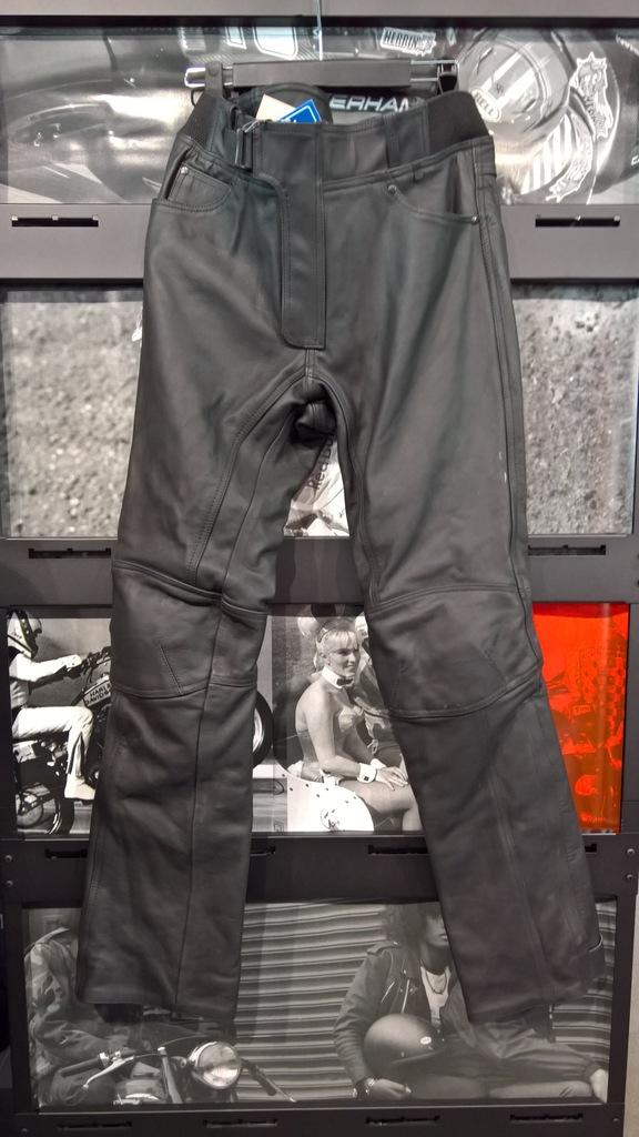 Spodnie skórzane Rebelhorn Runner Black roz. M