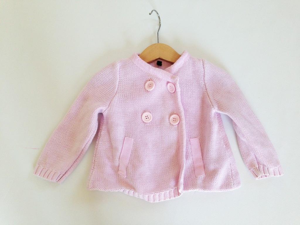 wiosenny sweterek / dzianinowy płaszczyk BENETTON