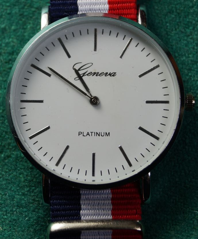 Zegarek Geneva, nowy
