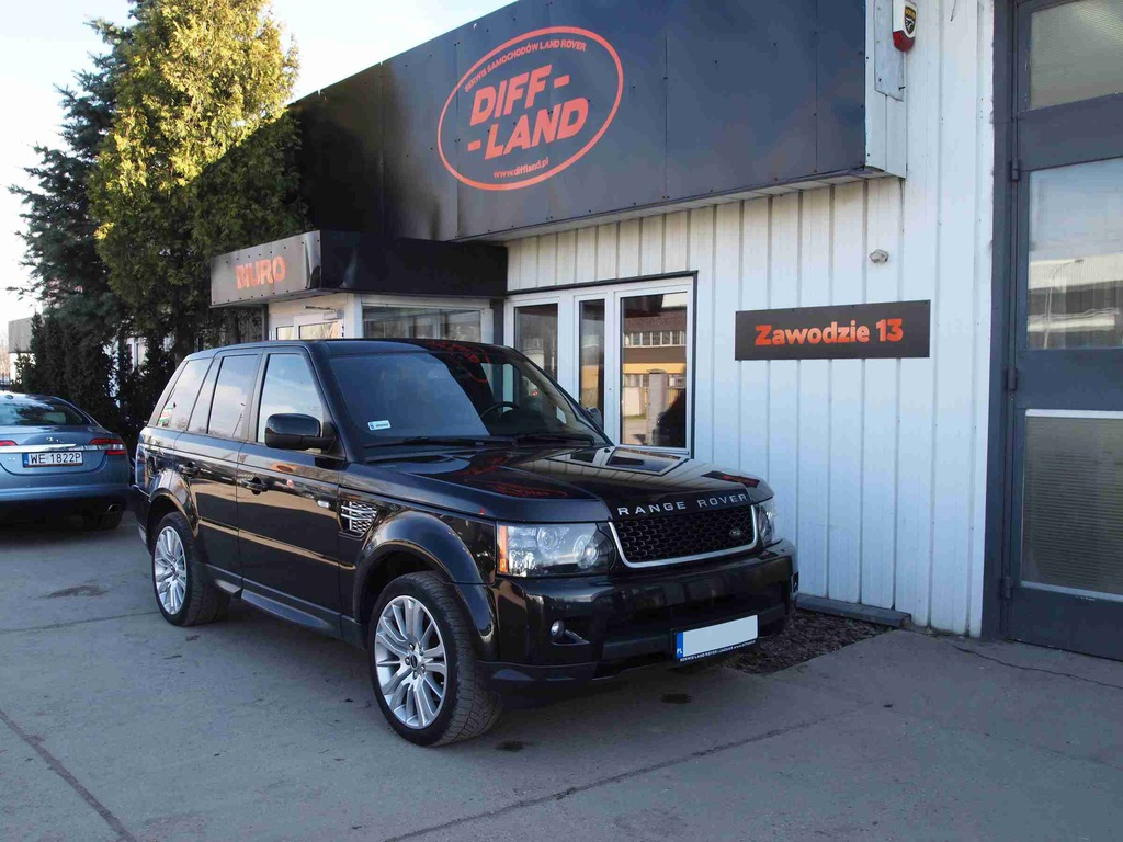 Land Rover Range Rover Sport 3.0L Diesel, DIFFLAND