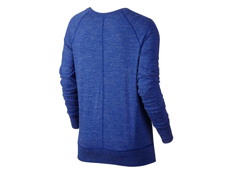 bluza sportowa damska NIKE GYM VINTAGE CREW 726055 455