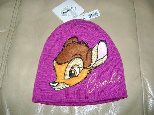 Czapka Bambi Reserved r.M (5-9 lat)