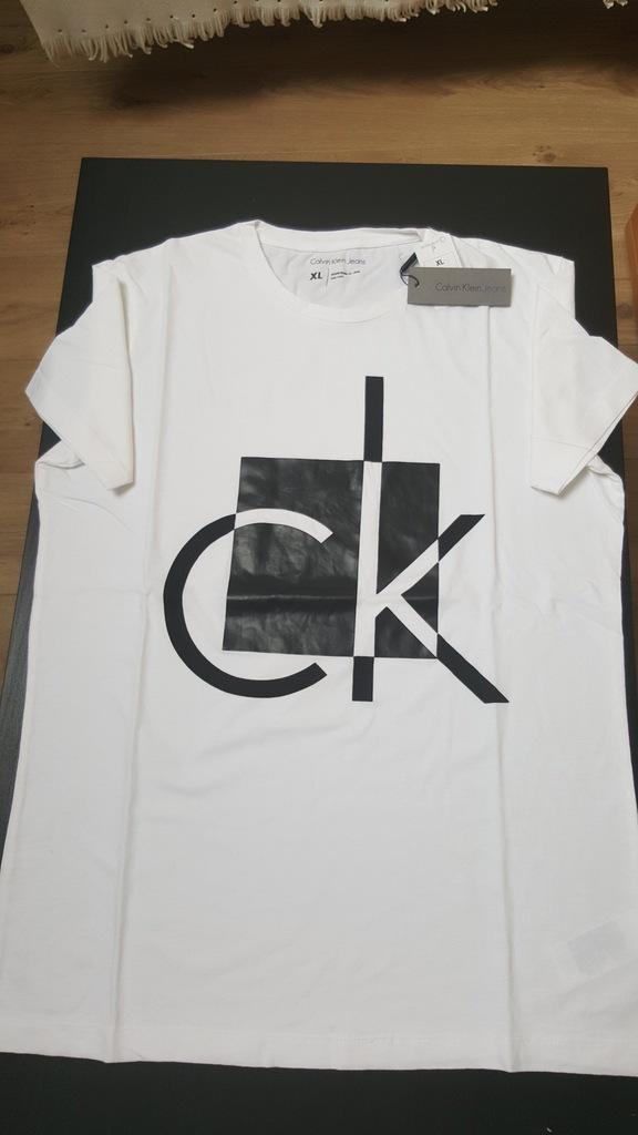 Calvin Klein t-shirt nowy , L , BCM !!!