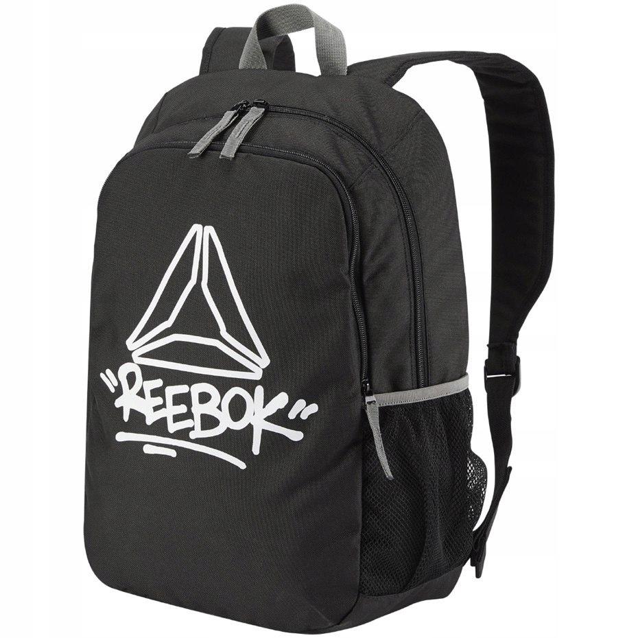 Plecak dziecięcy Reebok Kids Foundation czarny DA1