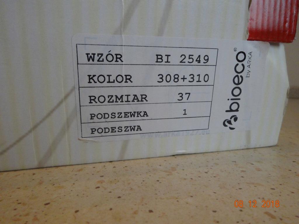 Kozaki BIOECO by arka skora rossi 37 karton