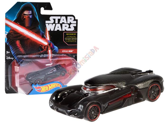 Hot Wheels Character Cars Star Wars Dark Vador dtb03
