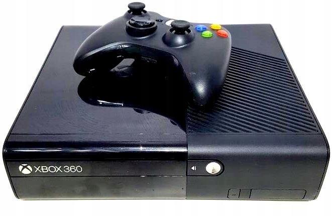 Konsola Xbox 360 Slim E 500gb Pad Komplet 7521313869 Oficjalne Archiwum Allegro
