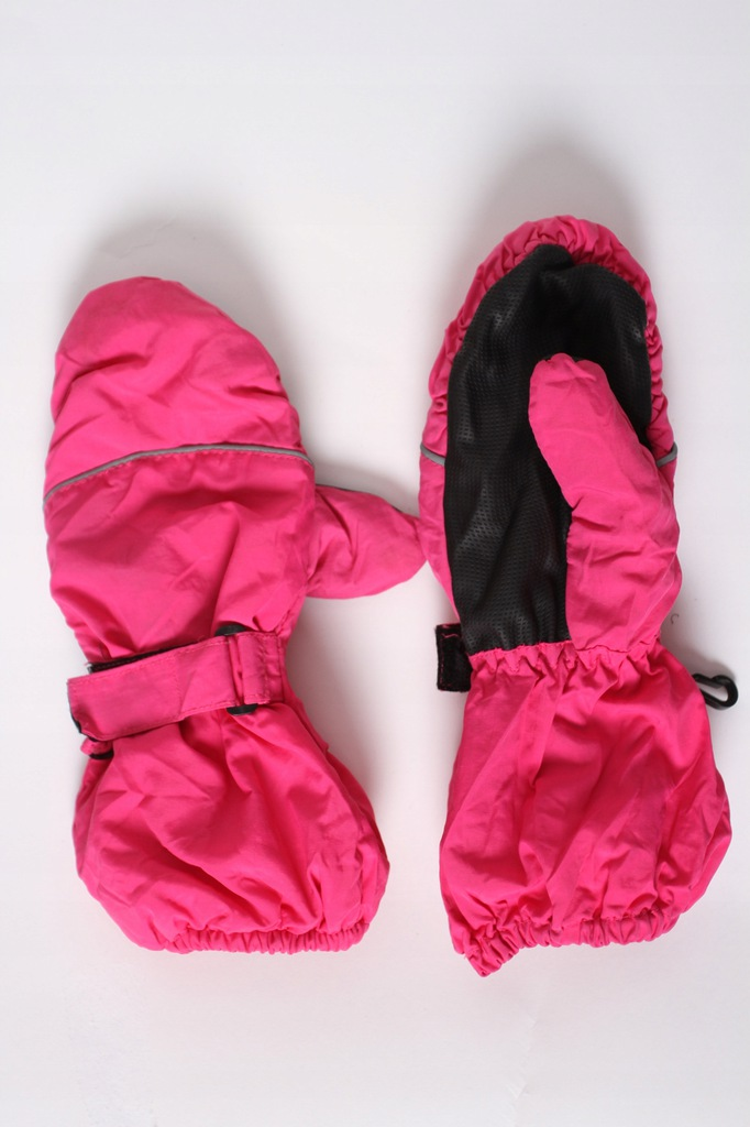 KAPPAHL rękawiczki zimowe r.122 6-8 lat różowe