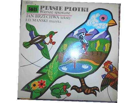 Ptasie Plotki Wiersze śpiewane Jan Brzechwa 7075159736