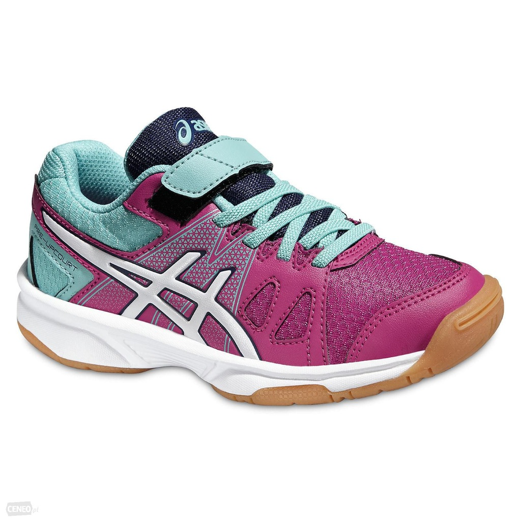 ASICS Pre UPCOURT PS BerrywhitePool Blue r35