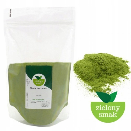 zielony jeczmień cena