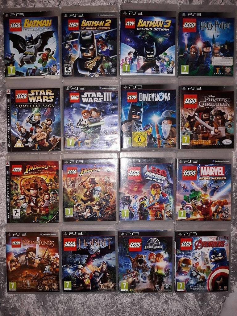 Gry Ps3 Wszystkie Lego 7123016651 Oficjalne Archiwum Allegro