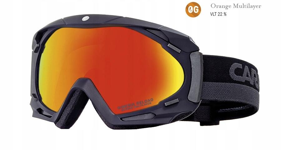 Gogle narciarskie Carrera Kimerik Black Matt Srosa