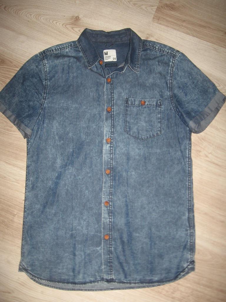 CROPP koszula dżinsowa r. M 100% Bawełna jak nowa  WfeE5