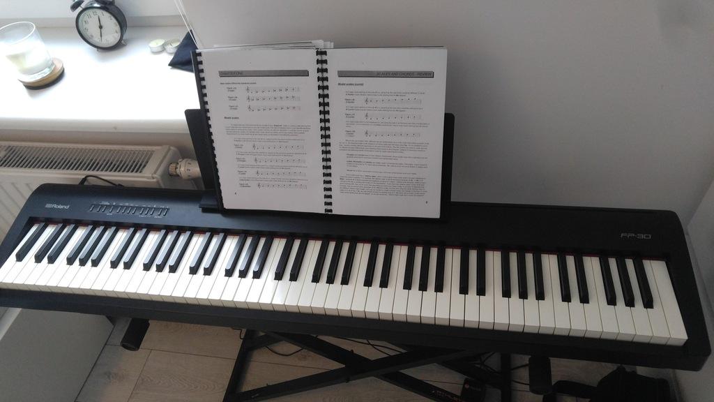 Pianino cyfrowe Roland FP-30 Gwarancja