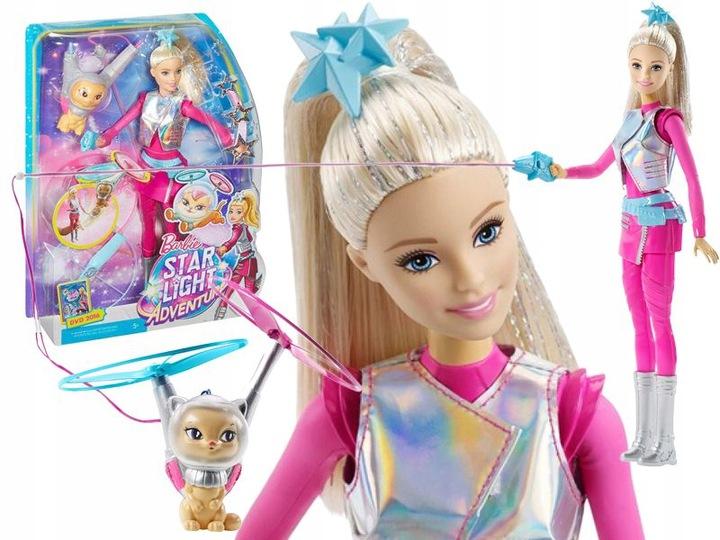Barbie Gwiezdna Przygoda Lalka Latajacy Kotek 7310648039 Oficjalne Archiwum Allegro