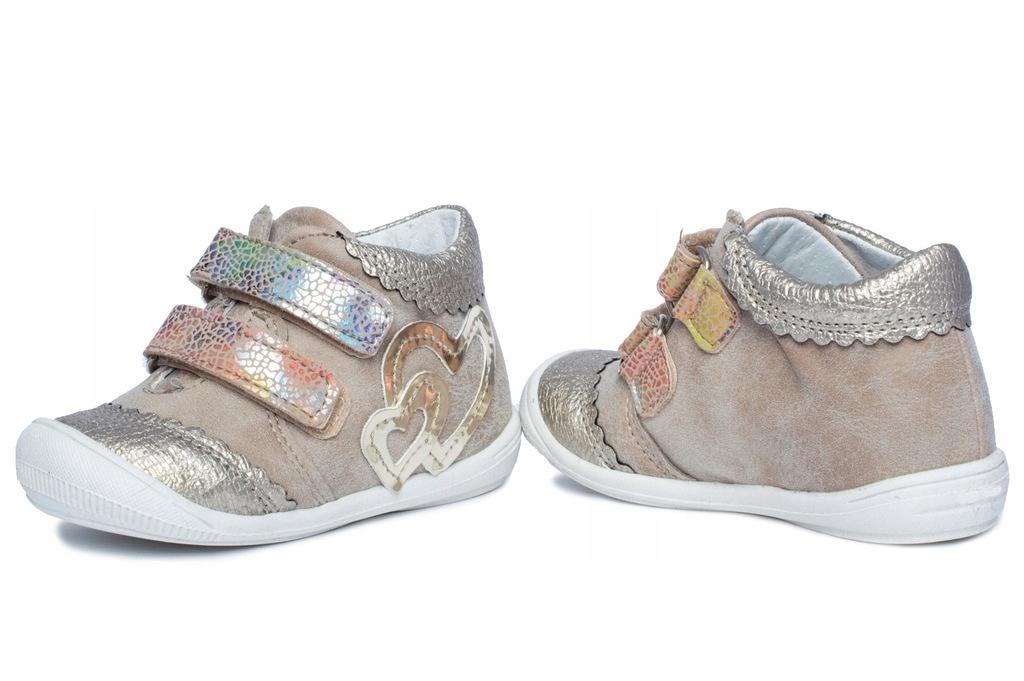 KORNECKI buty dla dziewczynki trampki r. 24 SZYBKA