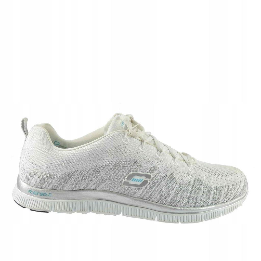 Duże damskie obuwie sportowe Skechers 54350ccor