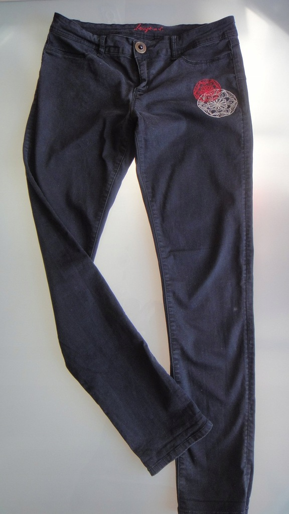 DESIGUAL 32 spodnie rurki 61P26D1 hiszpania super