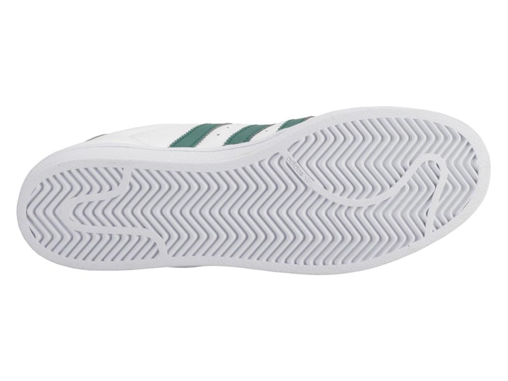 buty męskie zielone paski adidas