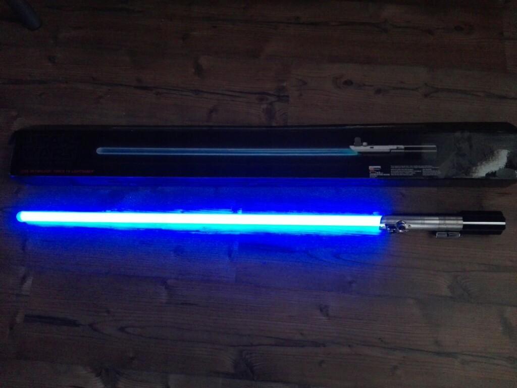 Miecz Swietlny Force Fx Luke Skywalker 7425584757 Oficjalne Archiwum Allegro