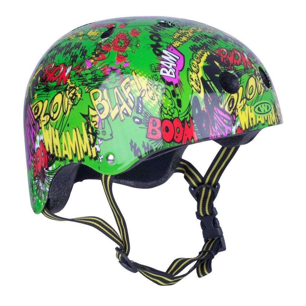 Dziecięcy kask rowerowy WORKER Freestyle Komik - K
