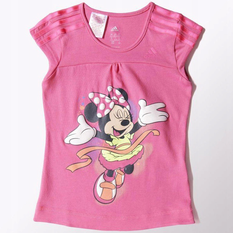 Koszulka adidas Minnie Long Tee Kids S22062 104 cm