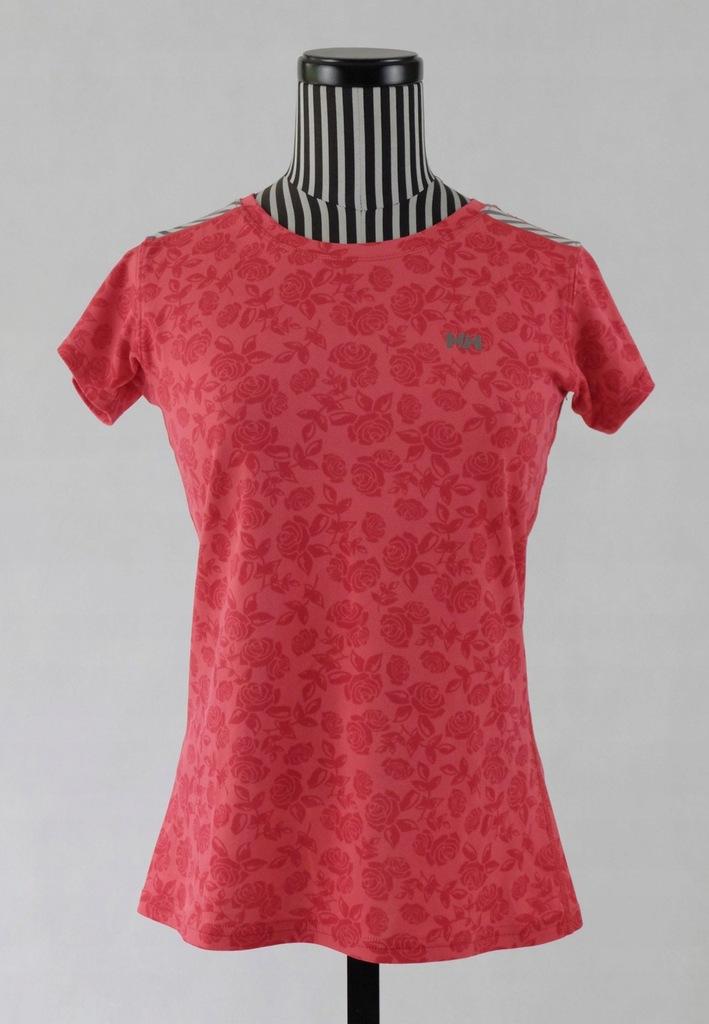 HELLY HANSEN WOMAN koszulka termo w róże S