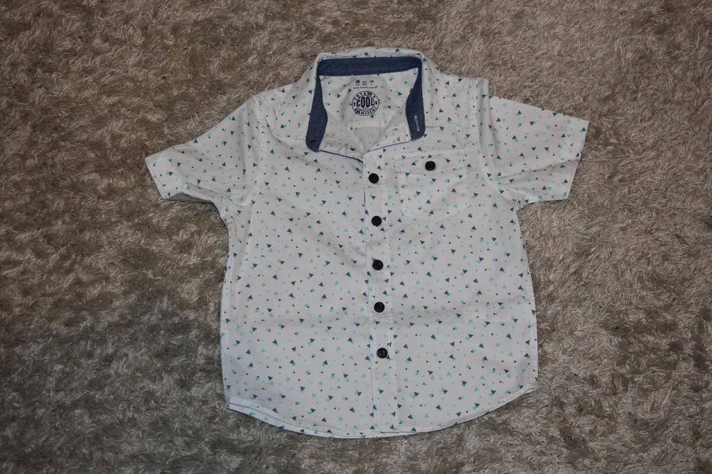 q076 śliczna koszula dla chłopca 110