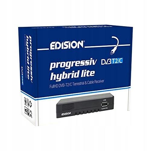 Dekoder Edision dvb t2/c