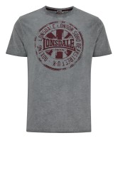 T-Shirt LONSDALE LONDON HAWES szary L