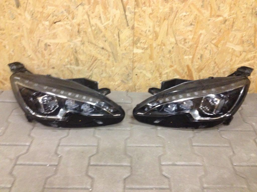 Peugeot 308 T9 lampa full led 17r lewa prawa