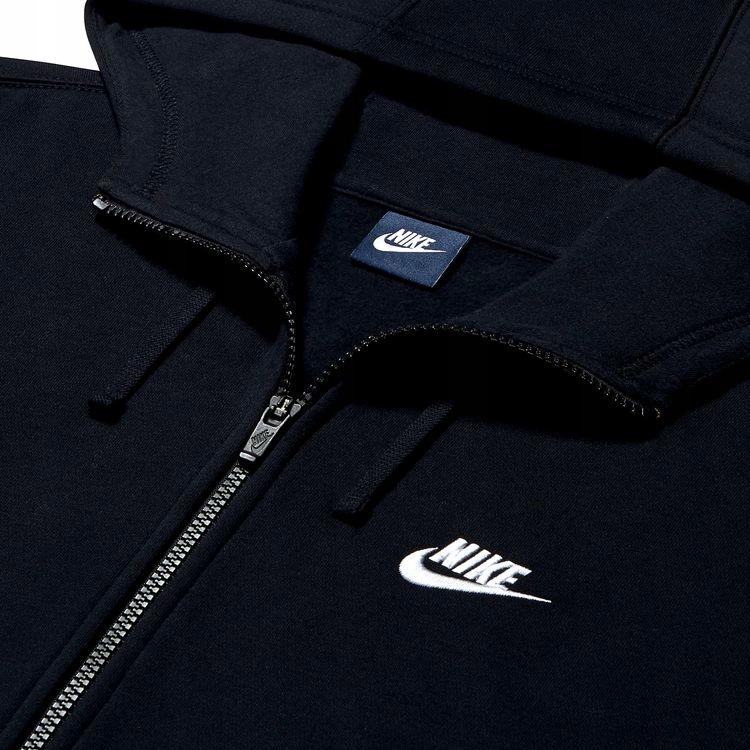 Bluza Nike meska kaptur NSW Hoodie FZ FLC Club 804389 010 roz. XL