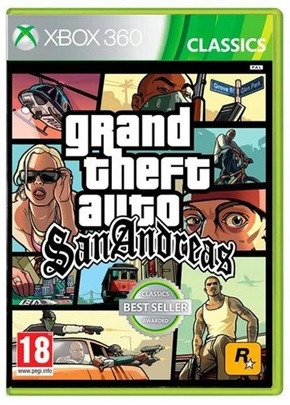 Grand Theft Auto San Andreas Xbox 360 7684755068 Oficjalne Archiwum Allegro