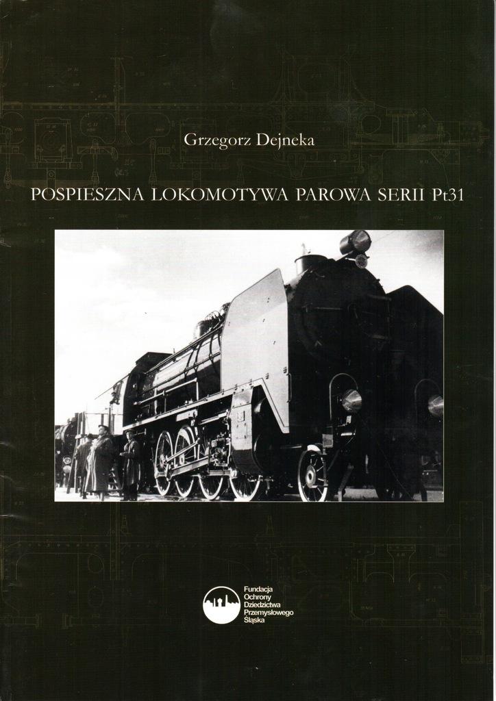 Książka, Pt31, Lokomotywa, Parowóz, G. Dejneka