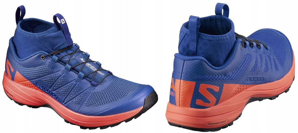 Salomon Men's XA Enduro Trail Runner, Surf The WebFlame