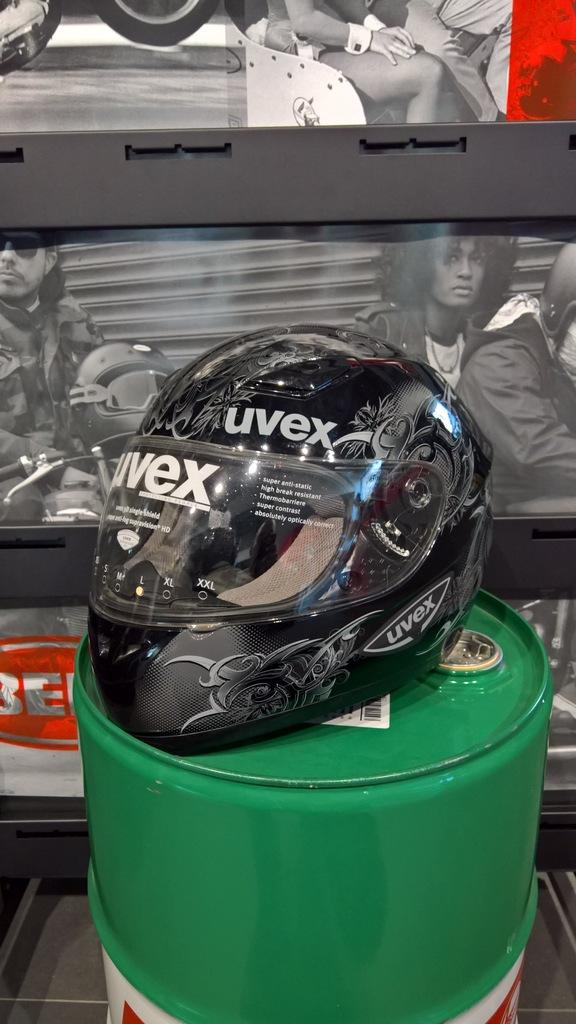 Kask motocyklowy Uvex Xenova roz. L
