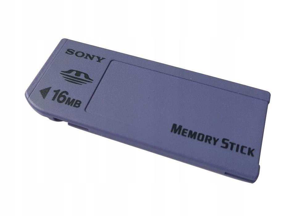 Sony Memory Stick 16 MB Karta Pamięci
