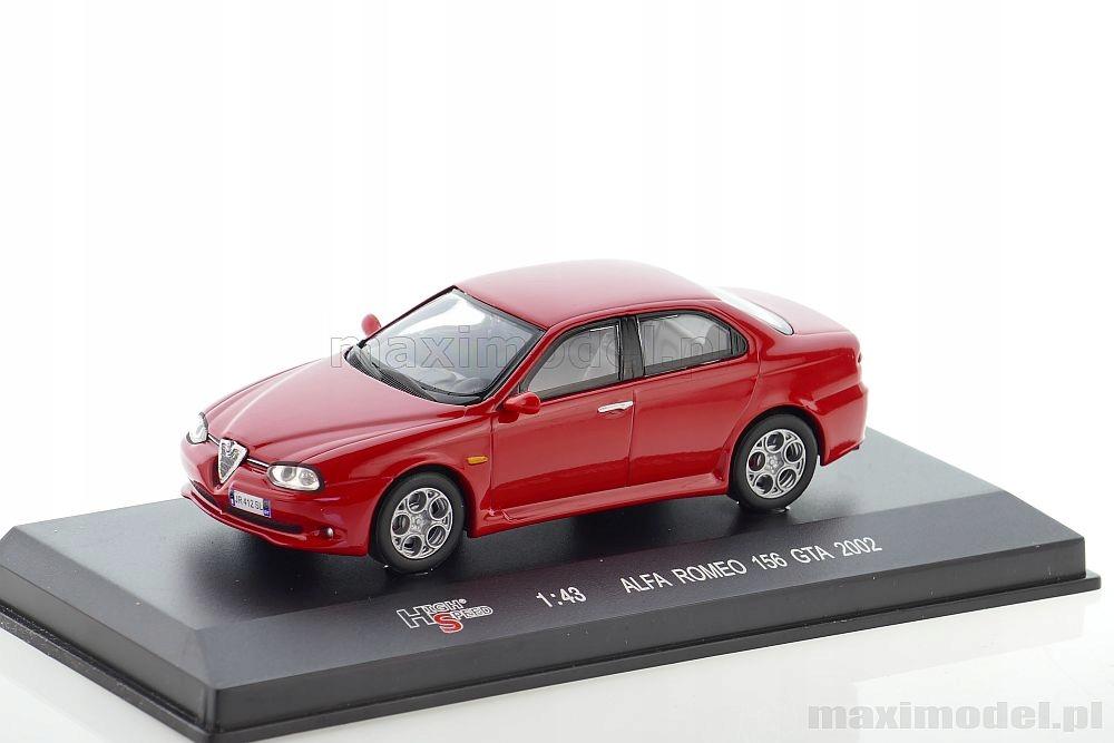 Alfa Romeo 156 Gta 2002 1 43 High Speed 43kfb25s 7616269101 Oficjalne Archiwum Allegro