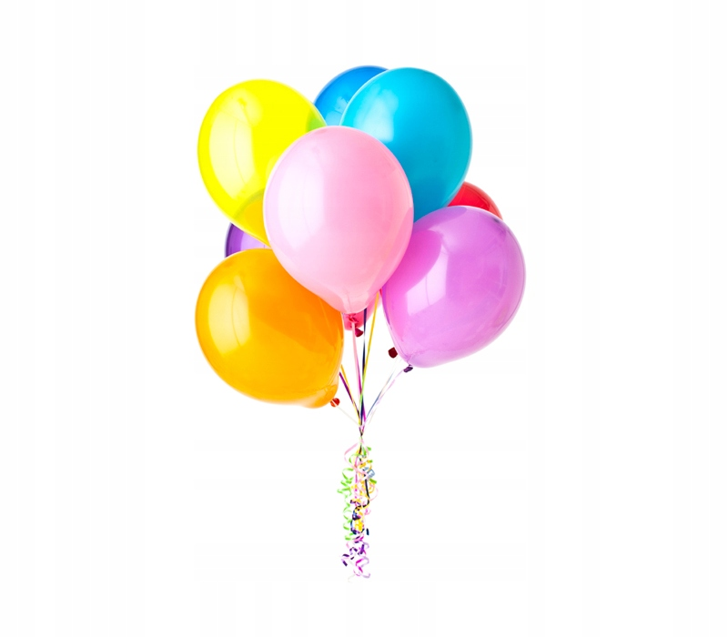BALONY Z HELEM napompowane hel balon DZIEŃ DZIECKA - 7346653575 ...