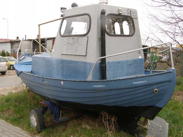 Kuter,statek, łódka jacht wędkarski ZAMIANA