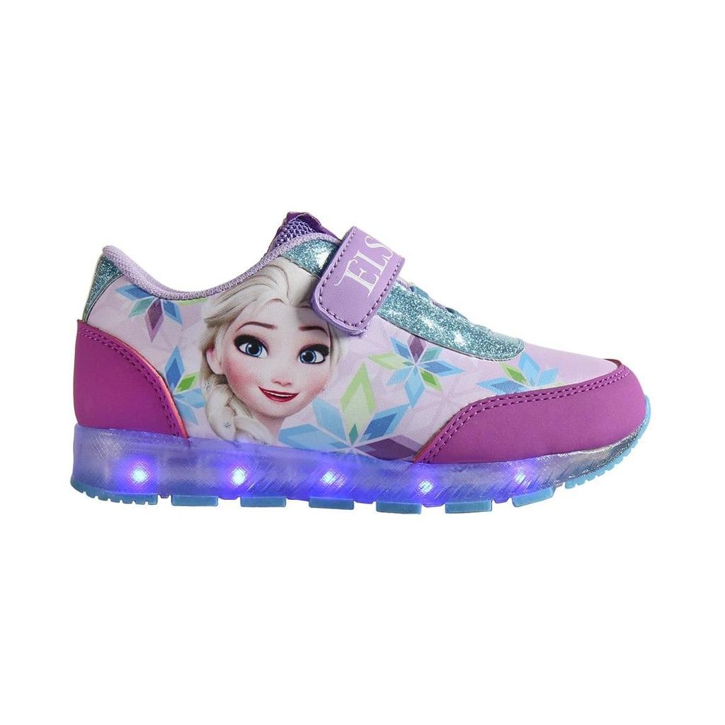 Buty dziecięce świecące LED Frozen Kraina Lodu 25