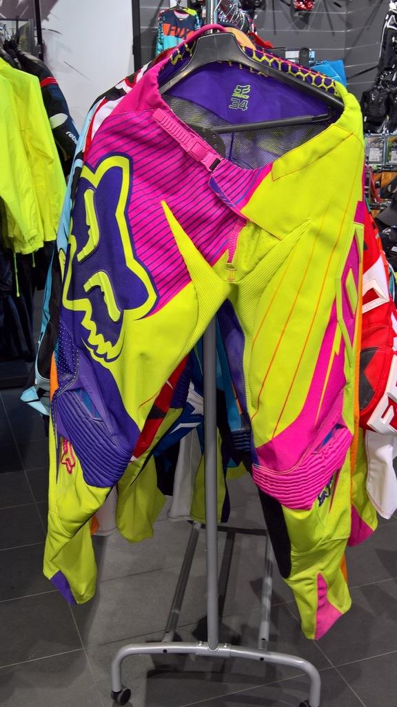 Spodnie Fox 360 Flight Green roz. 30