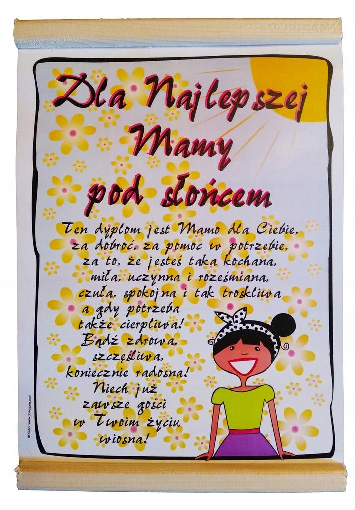 Niezwykle Zyczenia Prezent Dla Mamy Na Urodziny 7596596822 Oficjalne Archiwum Allegro