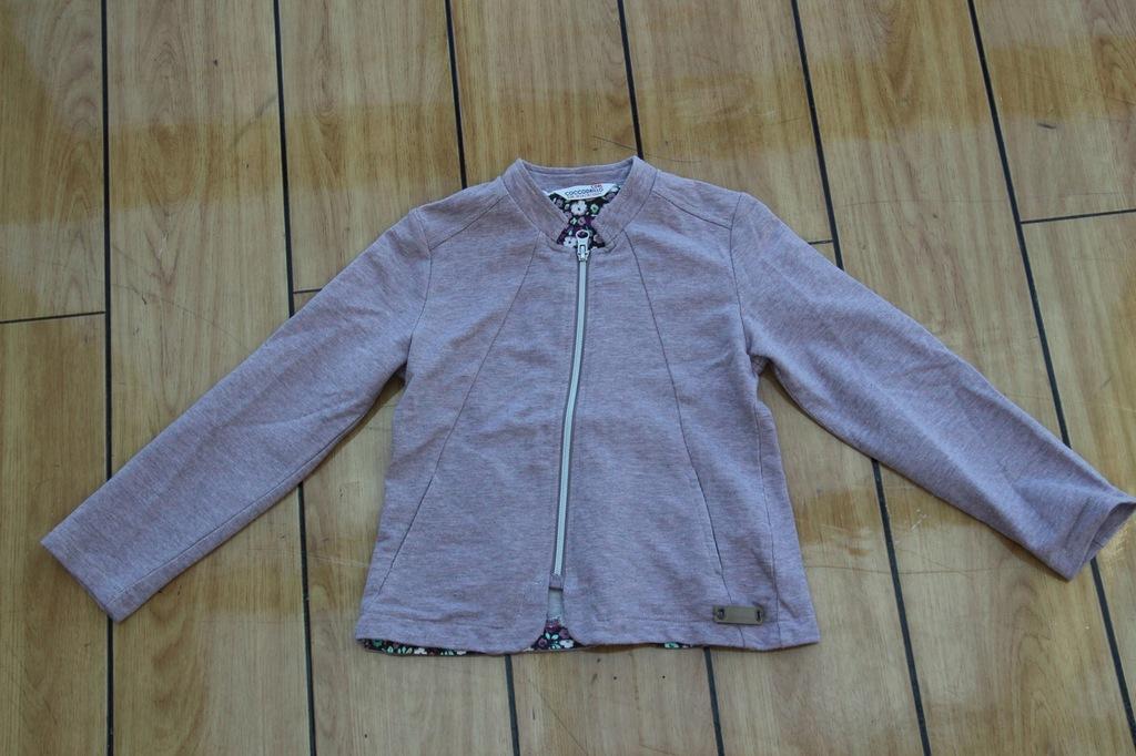 COCCODRILLO bluza dresowa MARYNARKA żakiet 116