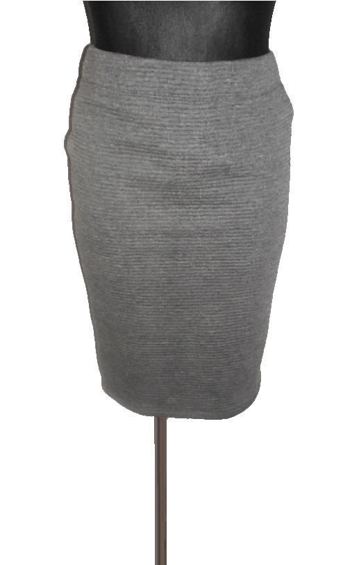 Spódnica ORSAY z dzianiny szara