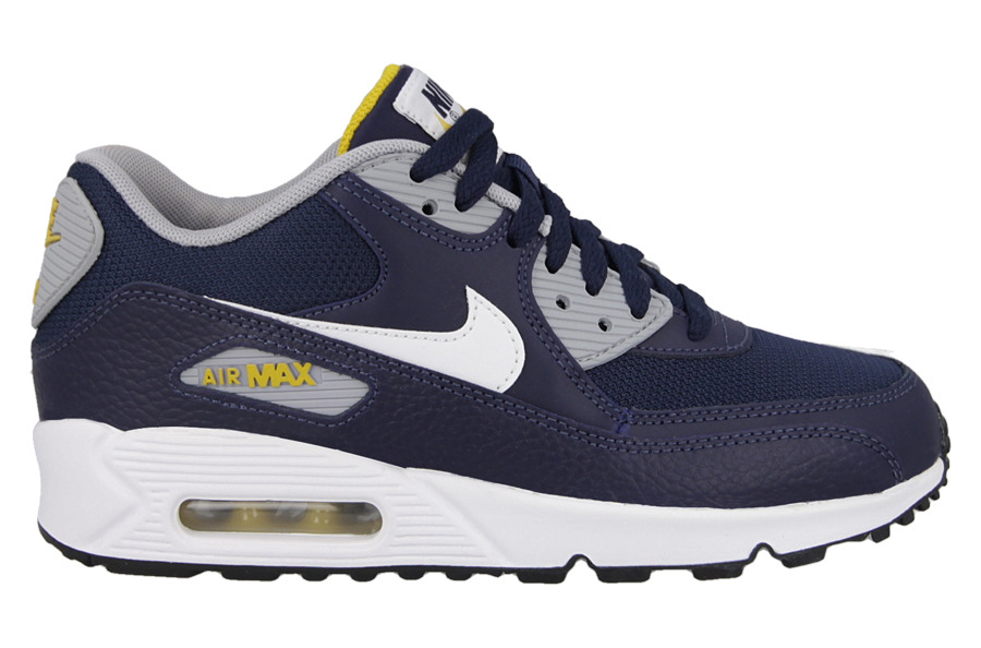BUTY NIKE AIR MAX 90 GS (307793 417) leather 38