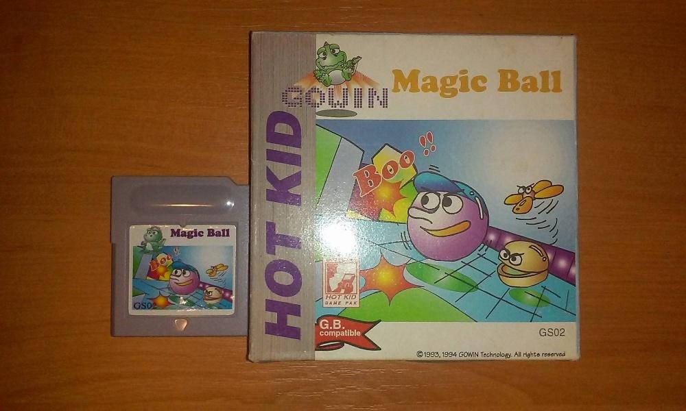 Magic Ball - na Game Boy Rarytas