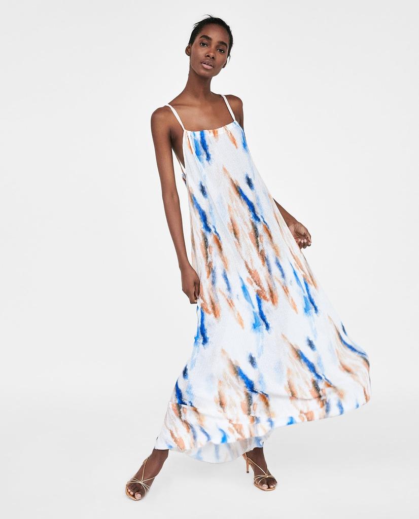 Luksusowa Sukienka Maxi Limited Edition ZARA M