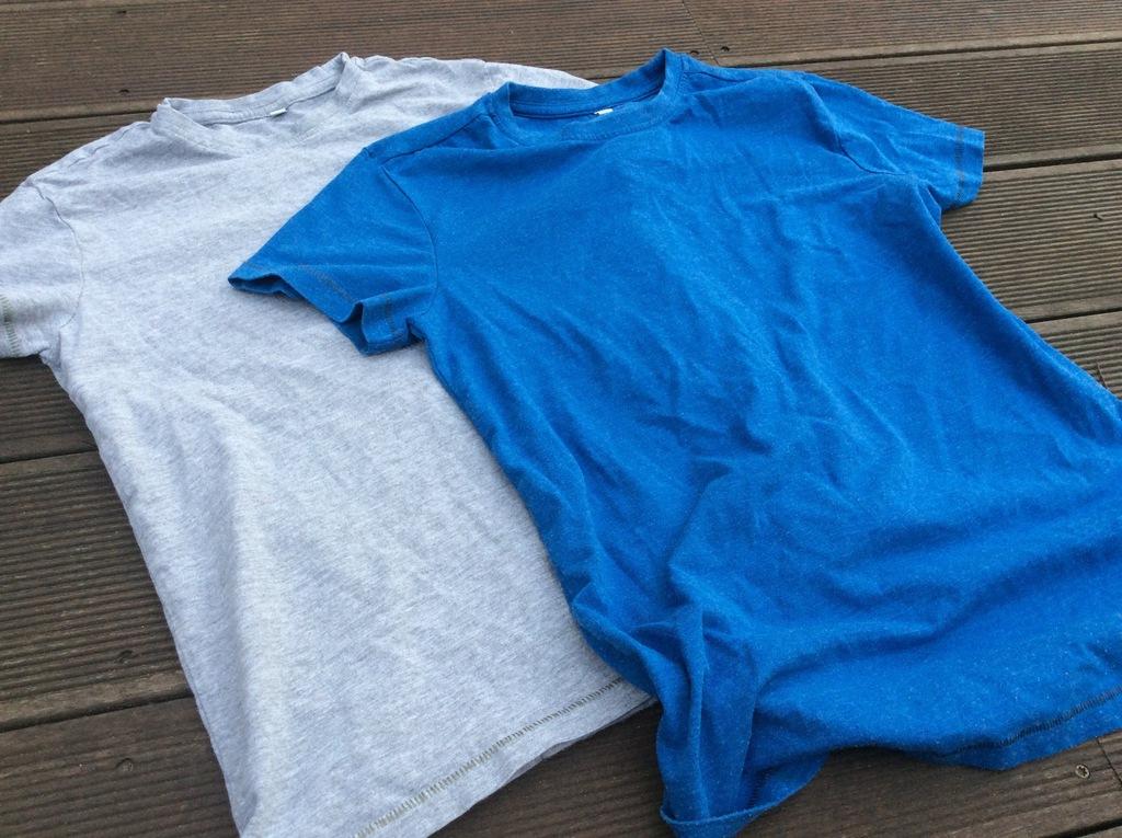 Marks&Spencer porządna bawełna 2x Tshirt 140